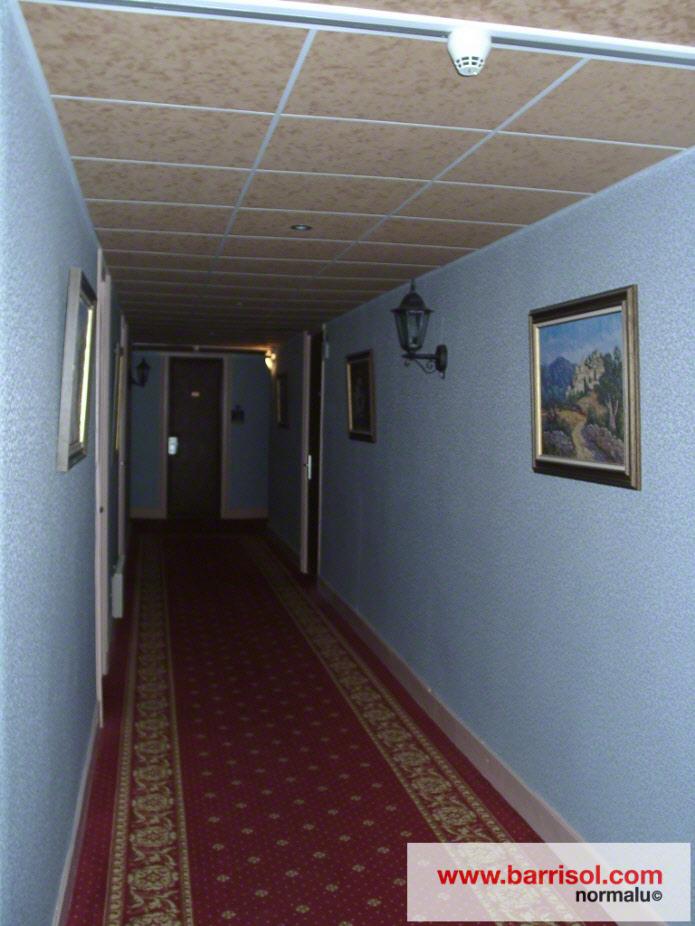 Photos plafond tendu plafond finition daim for Poser un plafond en pvc