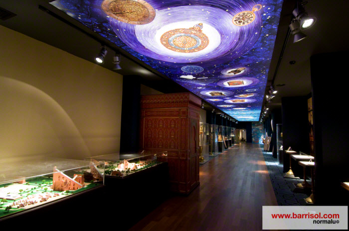 Plafond tendu barrisol imprim lumineux avec toile translucide - Plafond prime pour l emploi ...
