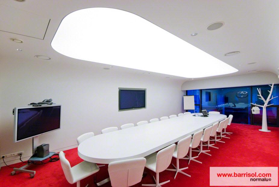 photos plafond tendu plafond lumineux. Black Bedroom Furniture Sets. Home Design Ideas