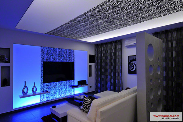 Creadesign : an innovation for a new finish of your ceiling