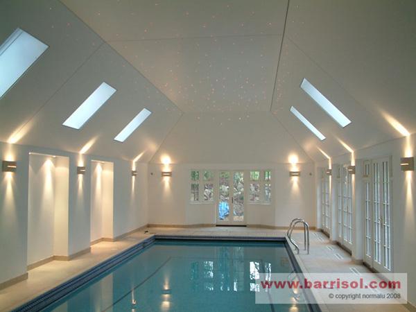 Syst me d 39 clairage fibres optiques pour plafond tendu for Plafond en fibre optique
