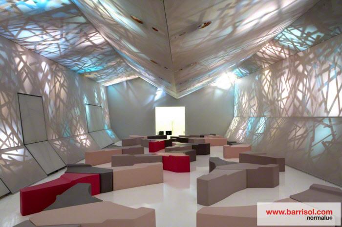 barrisol light lighting stretch ceiling more details. Black Bedroom Furniture Sets. Home Design Ideas