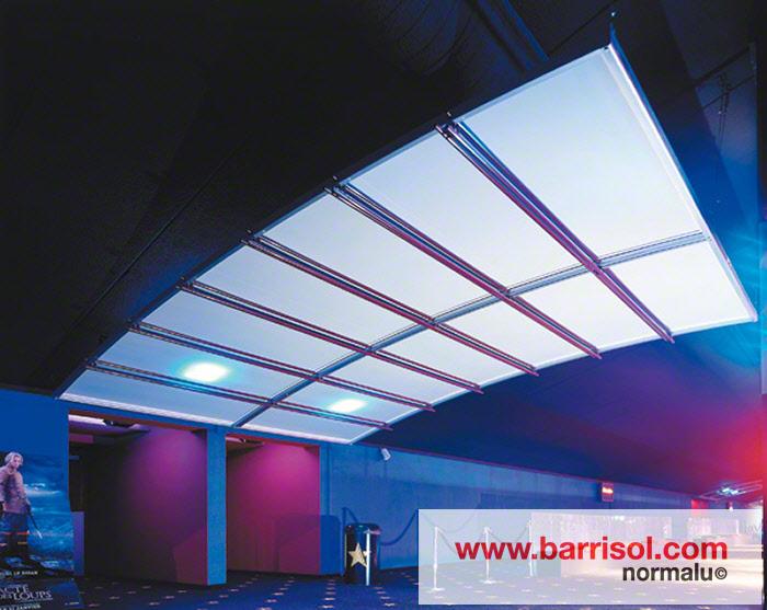 Photos de r alisations for Nettoyage plafond tendu barrisol