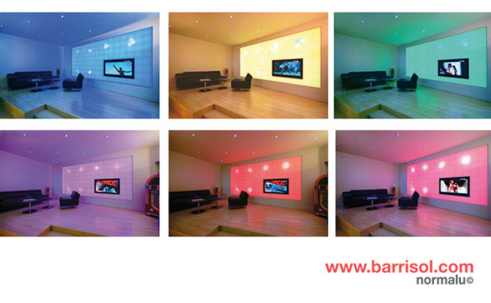r alisation mur lumi re color. Black Bedroom Furniture Sets. Home Design Ideas