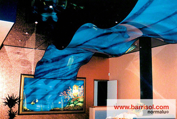 Dalle lumineuse plafond - Prix plafond tendu barrisol ...