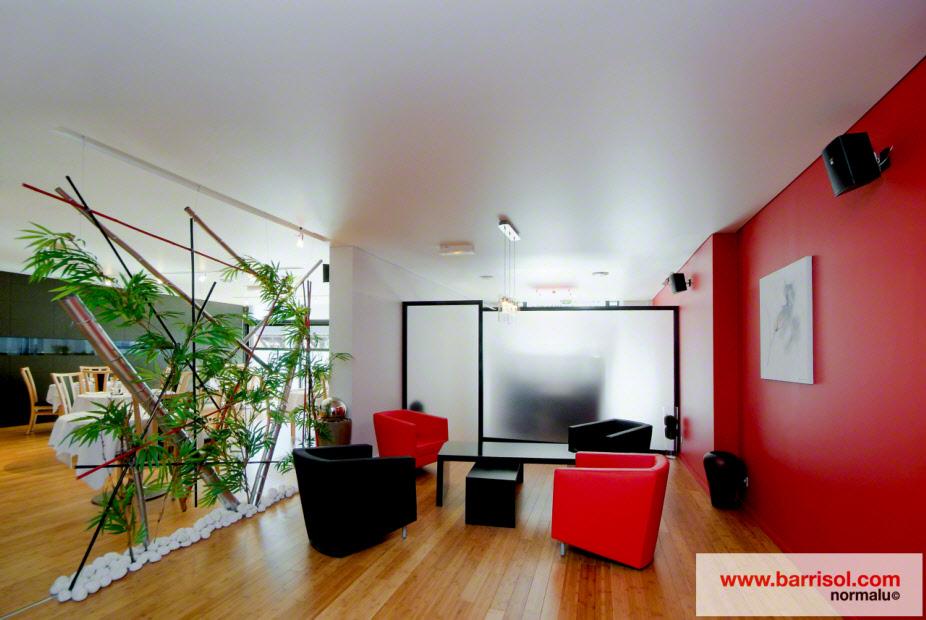 plafond tendu barrisol star plafond tendu avec profils de fixation invisibles. Black Bedroom Furniture Sets. Home Design Ideas