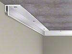 Lisse de fixation Barrisol Mini Star au plafond - Etape 1