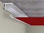 Lisse de fixation Barrisol Mini Star au plafond - Etape 2