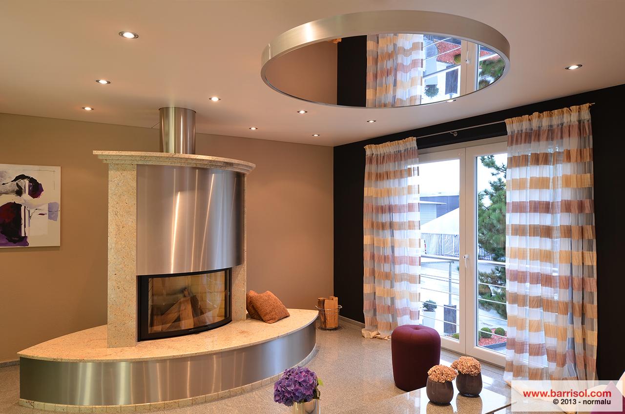 ... Plafond Tendu Barrisol Mirror ...