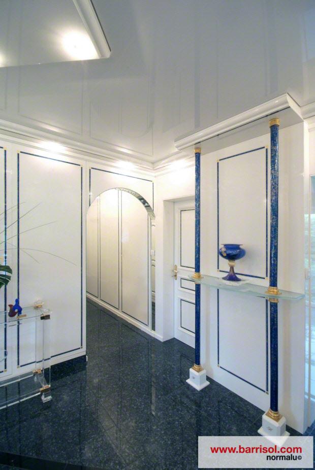photos plafond tendu particulier couloir et escaliers. Black Bedroom Furniture Sets. Home Design Ideas