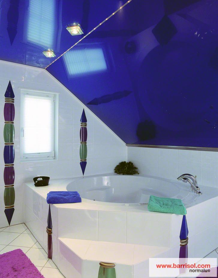 plafond pour salle de bain. Black Bedroom Furniture Sets. Home Design Ideas
