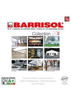 BARRISOL® Colori e finiture