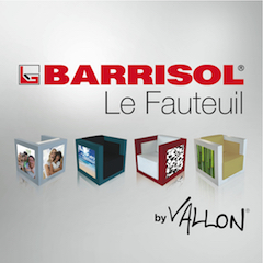 BARRISOL® Le Fauteuil by VALLON®
