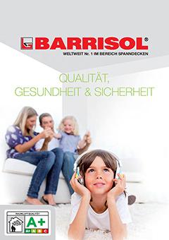 BARRISOL® Qualität, Gesundheit & Sicherheit