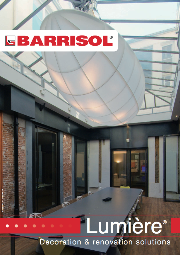 BARRISOL Lumière® Decoration & renovation solutions