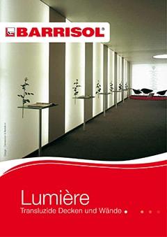 BARRISOL Lumière® Transluzide Decken und Wände