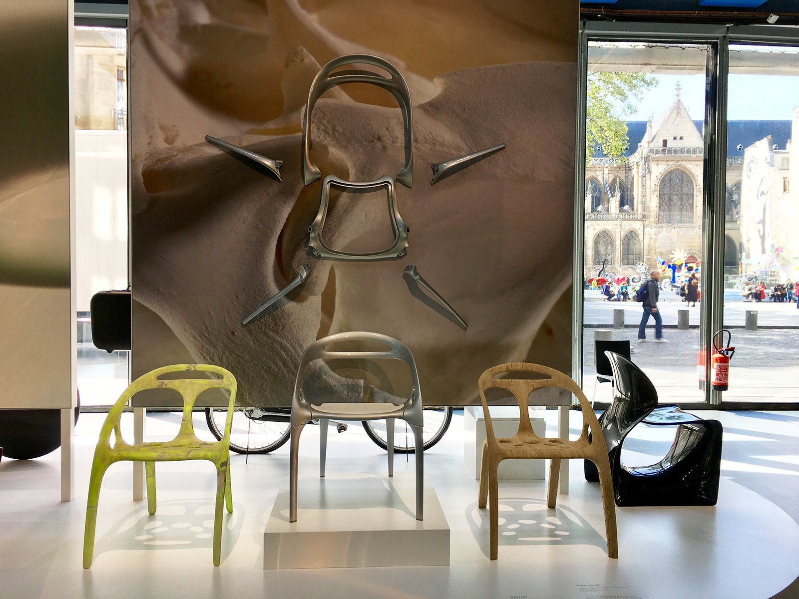 Ross Lovegrove Retrospective at Centre Pompidou with BARRISOL®