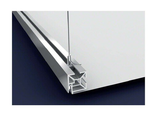 Fixation systems for stretch ceiling