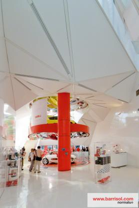Citroën showroom