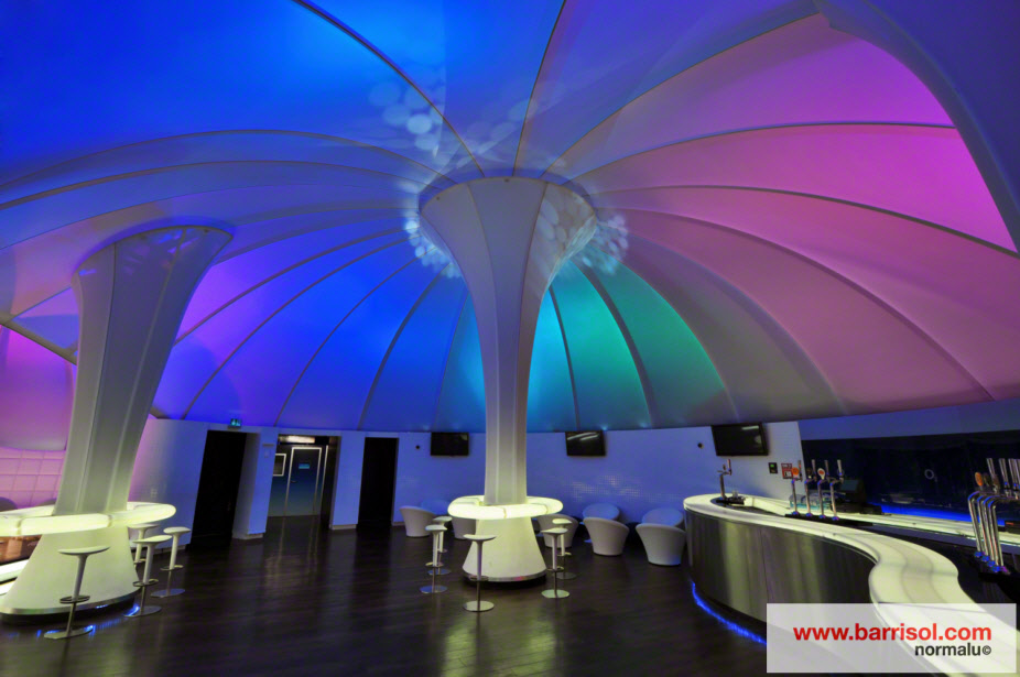 Zona Lounge del recinto O2 Arena <br><p style='text-transform: uppercase; color: #6F6F6F;'>United Kingdom</p>