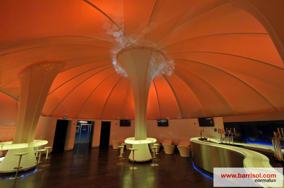 Komplex o arena united kingdom projet d exception barrisol