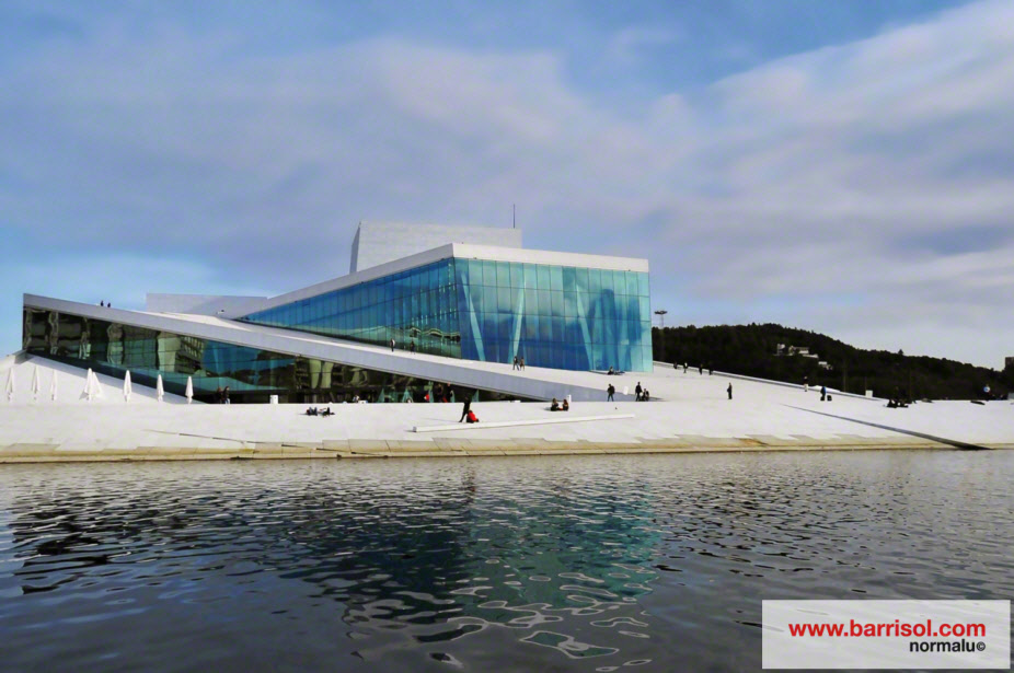 Opera house of Oslo