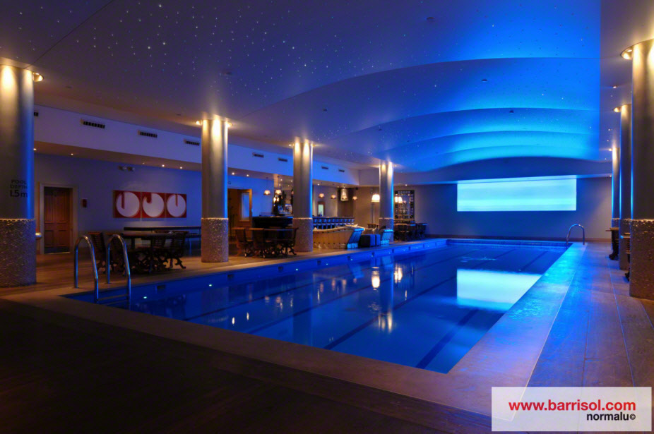 Swimming Pool Of Haymarket Hotel United Kingdom Projet D 39 Exception Barrisol
