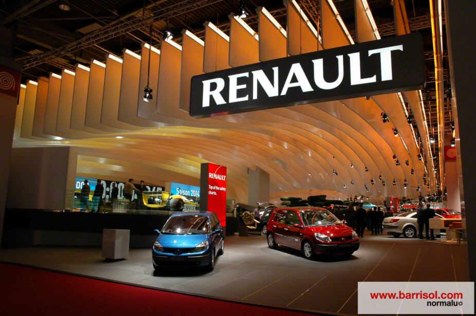 Renault Stand France Projet D Exception Barrisol