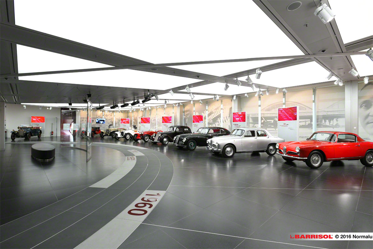 Alfa Romeo Historical Museum <br><p style='text-transform: uppercase; color: #6F6F6F;'>Italy</p>