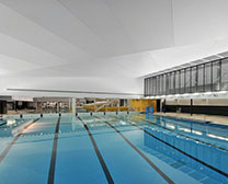 Desjardins Aquatic Center – St-Hyacinthe, Qc.
