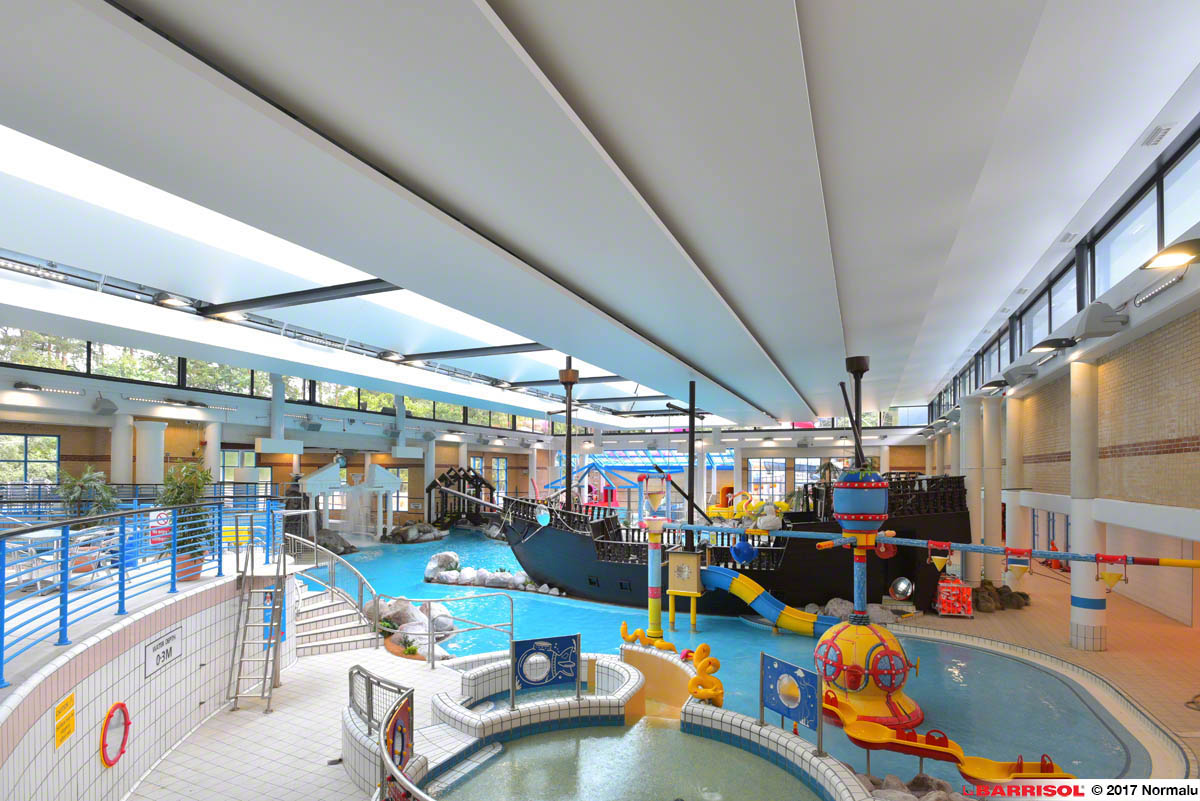 Coral Reef Bracknell, United Kingdom - Projet d'exception Barrisol