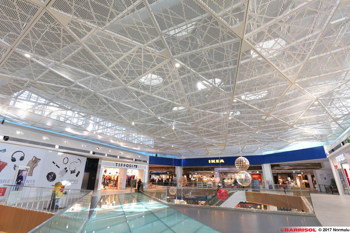 Sicherheits-Quadratmeter-Mall