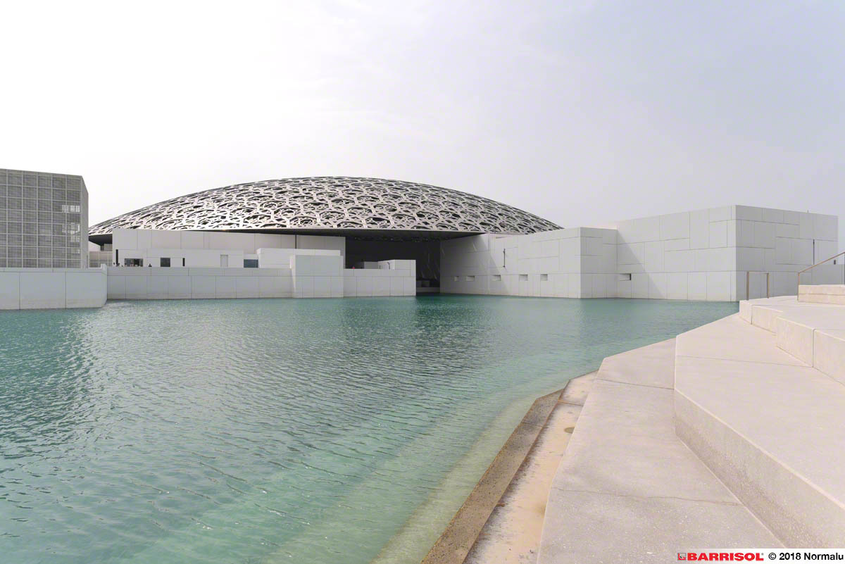Louvre Abu Dhabi <br><p style='text-transform: uppercase; color: #6F6F6F;'>United Arab Emirates</p>