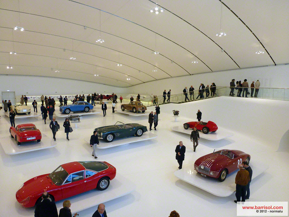 Museo Enzo Ferrari <br><p style='text-transform: uppercase; color: #6F6F6F;'>Italy</p>