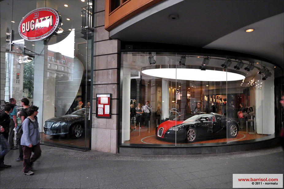 Bugatti Showroom Germany Projet D Exception Barrisol