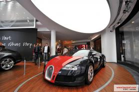 Bugatti showroom