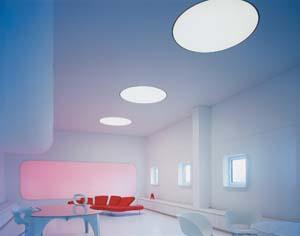 Lumière color wall