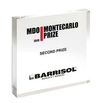 MDO MONTECARLO PRIZE 2nd prize Lamp Lumigon by Flynn Talbot