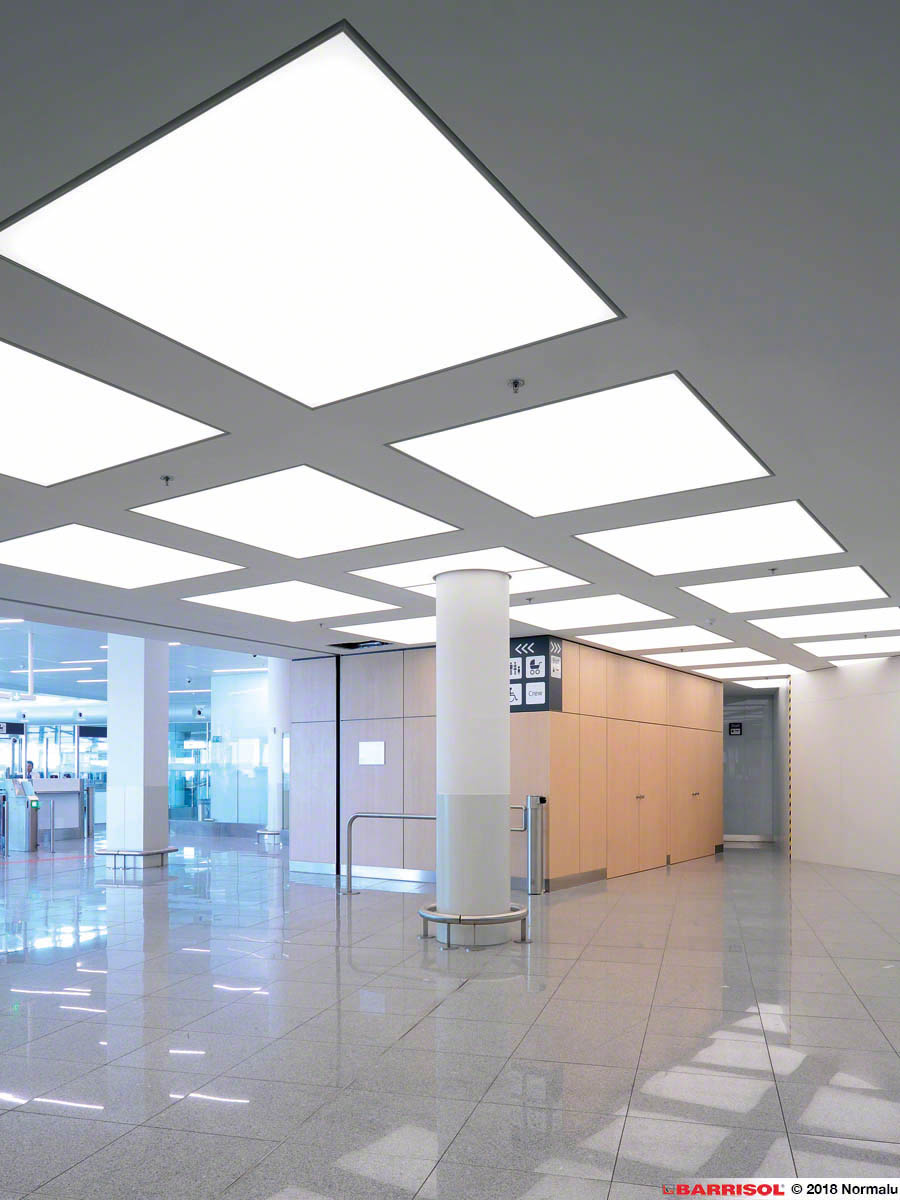 Concrete Ceiling Lighting