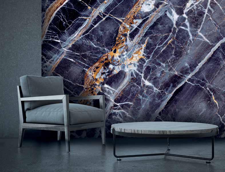 Barrisol stretch ceiling and Artolis wall marble pattern 190259231