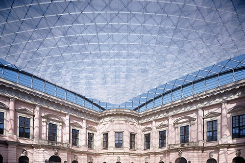 Deutsches Historisches Museum with Microsorber translucent films for the ceiling