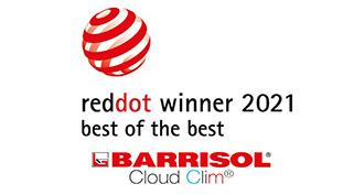 Barrisol Cloud Clim® awarded by the REDDOT AWARDS 2021 in the category Best of the best !