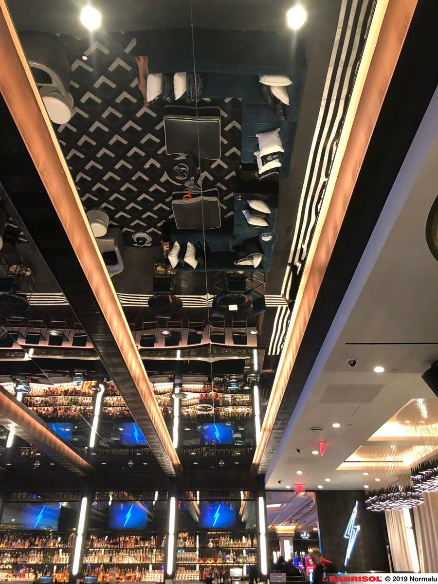 News : Barrisol Mirror® in the Palazzo Casino in Las Vegas